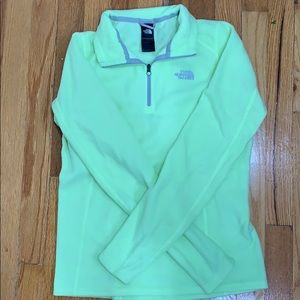 NWOT The North Face fleece pull over